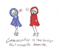 Communication by FlashyFashionFraud