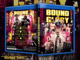 TNA Blound for glory 2014 Blu-ray cover by Mohamed-Fahmy
