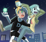 dannyphantom and billy joe cobra by ohthree