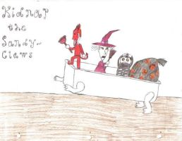 Kidnap the Sandy Claws by MystressOfDarkness13