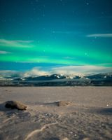 Green sky at night... by LamontPhotography