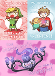 Gaming Valentine's 2013 by Shattered-Earth