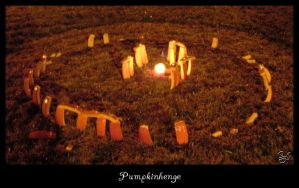 Pumpkinhenge by Kittenpants