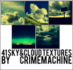41 Sky Textures -CRIMEMACHINE by crimemachine