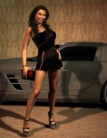 AMG Girl 2 by 007Fanatic