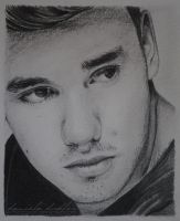 Liam Payne Fabulous Mag drawing by lilmisscoolio