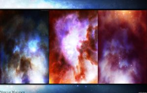 Nebulae Wallpack by cosmicbound