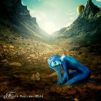 Alien - In a Peaceful World by PriscillaSantana