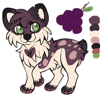 Grape Aussie OTA CLOSED by Squishy-Feathers