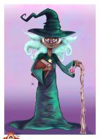 Wizard Granny by Dragon-flame13
