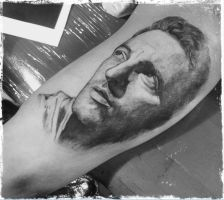 Bruce Springsteen Tattoo by izzysuxx
