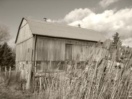 Old Barn by rebelx