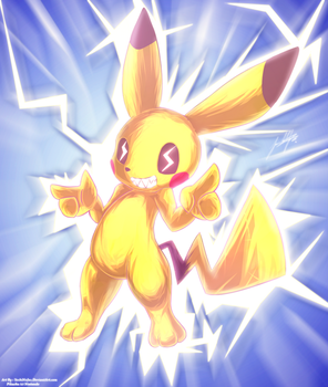 PiKaChuup by YoshiNoJas