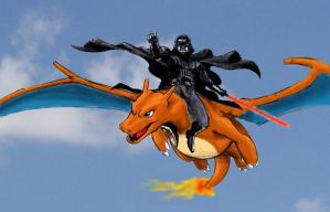 Darth Vader and Charizard by Vince-93