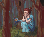 OtGW - Beatrice in the forest by Rycheza