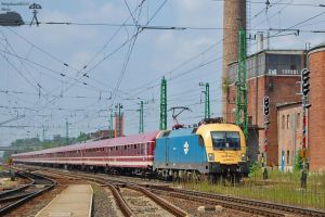 3FM A-Trein in Gyor on 2011 by morpheus880223