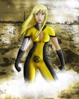 Illyana Rasputin -Colored- by gothicFLAVOURS