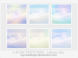 IconTextures100x100_coloursky by icyrosedesign