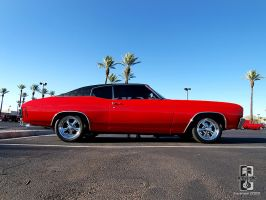 1970 Red Chevelle by Swanee3