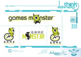 logo games monster by stitchDESIGN