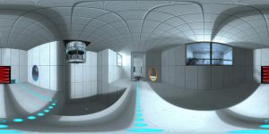 portal 360 panorama by wasted49