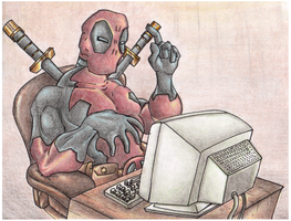 Deadpool Internet. by Virus-20