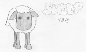 Sheep by Kamiruchan015