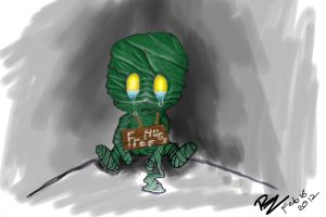 Amumu - League of legends - free hugs by RayZerno