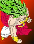 Dragon Ball GT - Broly LSSJ3 by Cheetah-King