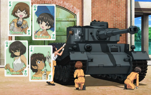 Girls und Panzer Leopon team Wallpaper by Nishizumi77