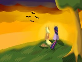 MLP- Sunset by Hagaine