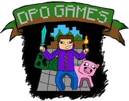 DpoGames Shirt Design Finished by davids-sketchbook