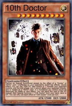 10th Doctor Alternate Art by DoctorPokemonIchigo
