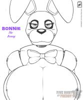 Female Bonnie Bust Shot_wip by wsache2020