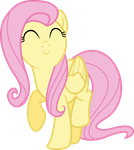 Happy Fluttershy by Givralix