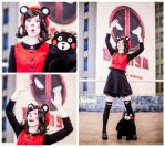 Kumamon cosplay ave satani by Tenori-Tiger