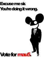 Vote for mau5 REDO by T0X1KB01