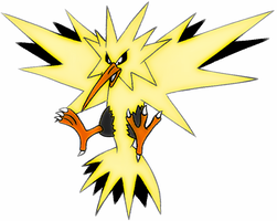 zapdos by ResidentEvilhunters