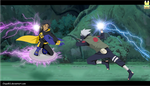 Kakashi Vs. Static by Chipo811