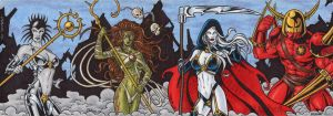 Lady Death Sketch Cards 4 by tonyperna