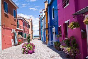 Colorful Burano I by Bozack