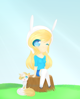 Fionna and Cake by IFuckingHateDallas