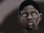 African boy by Dr-Blenkaz