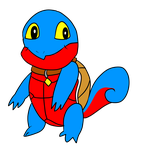 Kiddo's Squirtle form by Kiddo-the-dragon