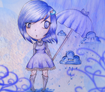 Rainy Girl by Lucale