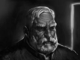 Old Man study by FlavioGreco