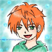 Keep on smiling by Zaije