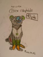 Bear or so... xD Adoptable 10 pts./ OPEN by Snowstorm-wolf