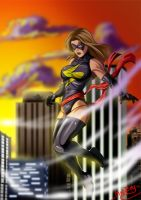 Ms Marvel by Madboy-Art
