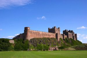 Bamburgh Castle II by scotto